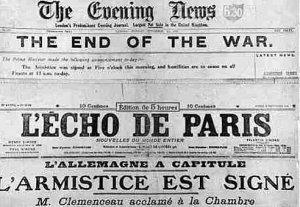 11-novembre-1918-titre-echo-de-paris-armistice-signée