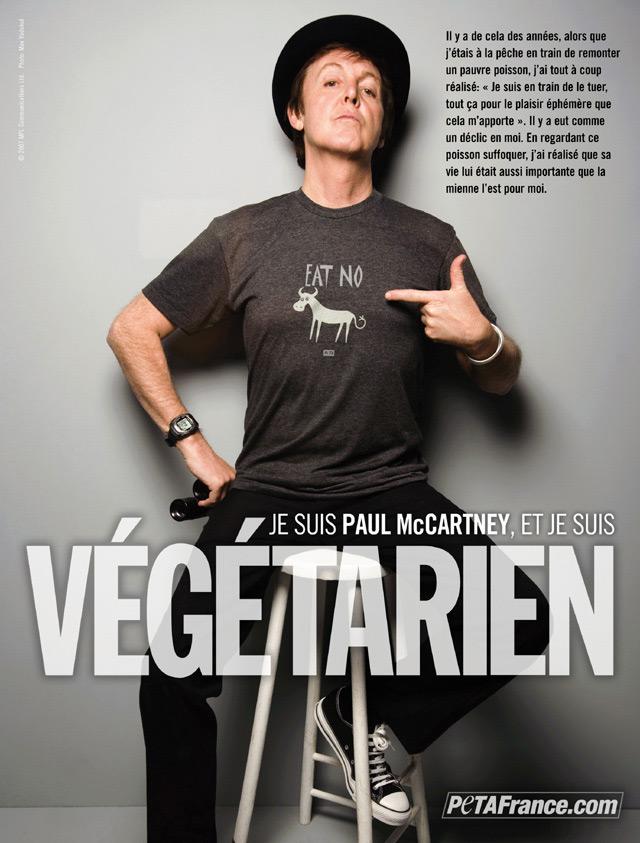 Paul-Mc-Cartney-végétarien