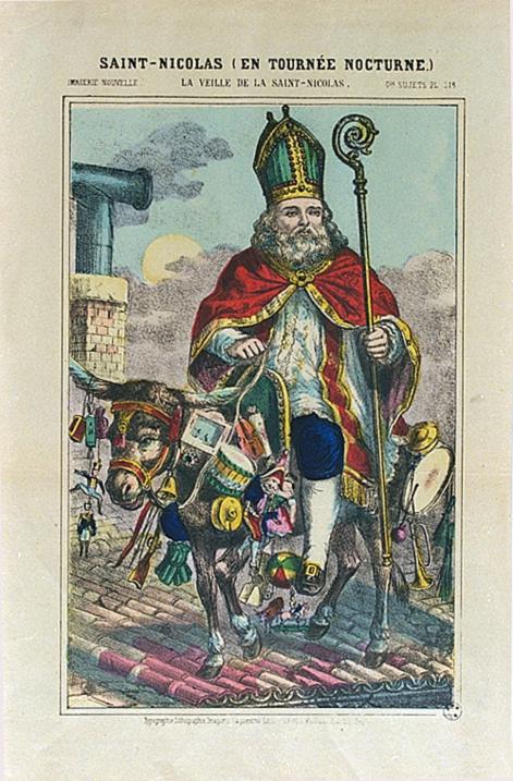 st-Nicolas-sur-son-âne-image-d-epinal
