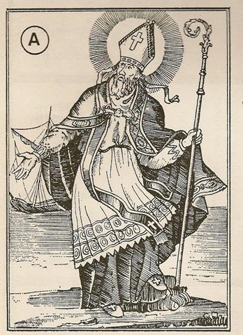St Nicolas-carte-ancienne-au-trait