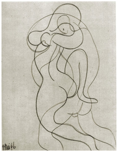 picasso-couple amour