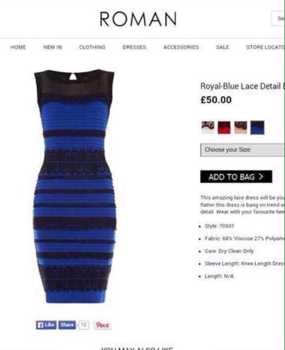 robe-bleu-ou-dorée-