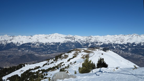 Mont major vercor in suisse sports d'hiver