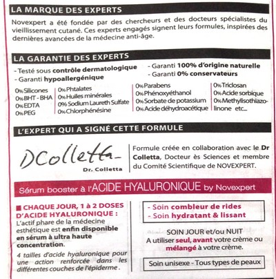 acide hyaluronique novexpert