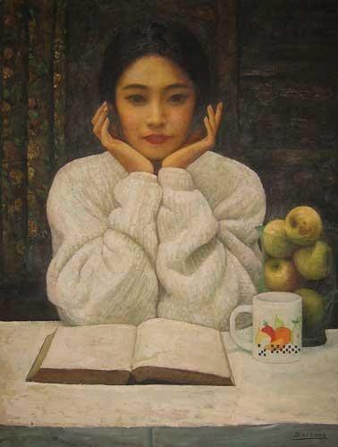 Di-Li -Feng-femme-qui-lit