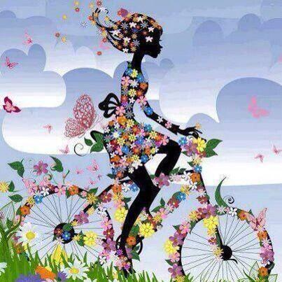 flowerpower-jeune-fille-en-bicyclette-fleurs