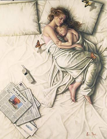Laurie-blanck-mère-qui-dort-avec-son-enfant