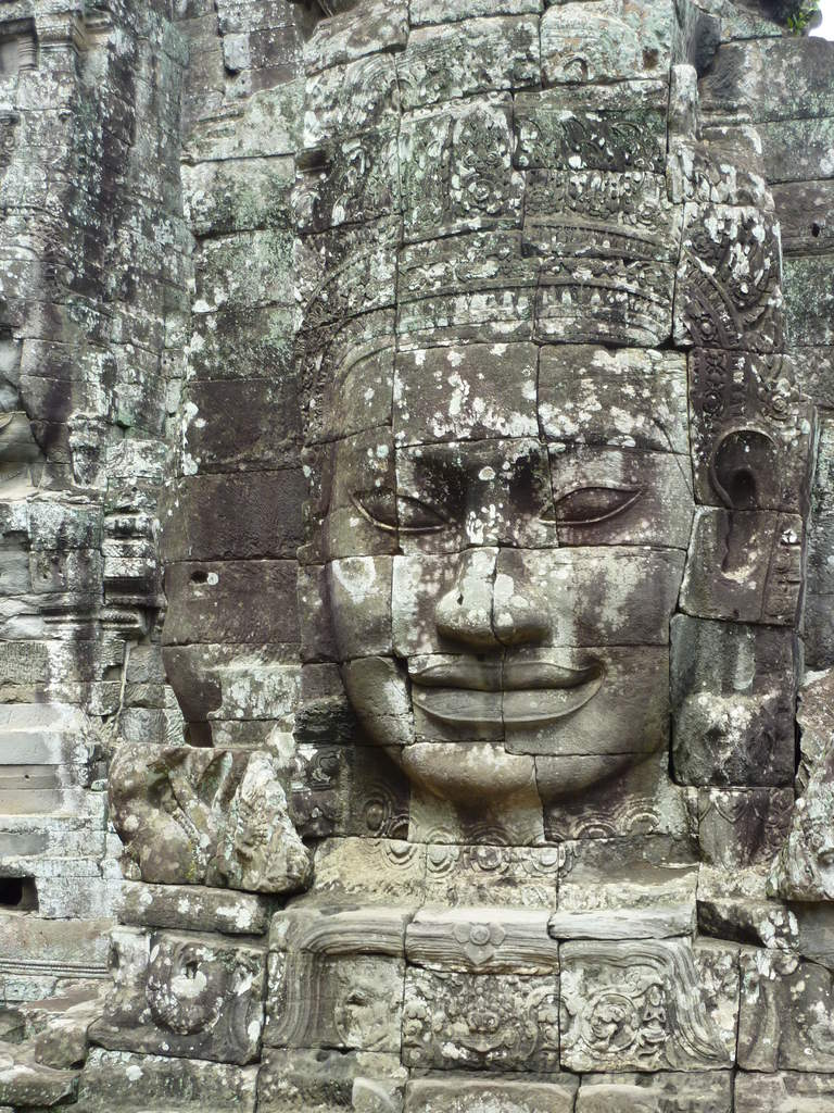 temple bayon sourire cambodge