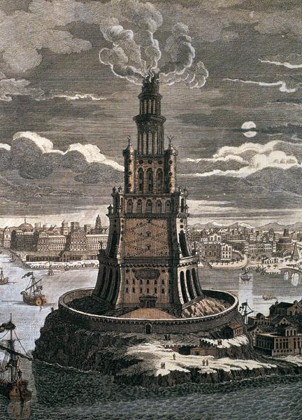 phare-d-Alexandrie-merveille-du-monde