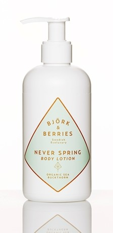 Never Spring BODY LOTION Björk§berries