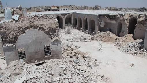 Maarat al-Noomane-bombardée