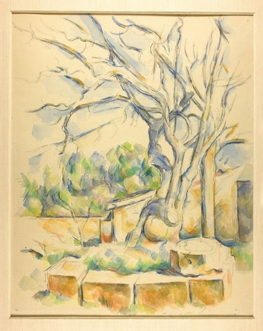 Pisatchier peint par Cézanne Chicago