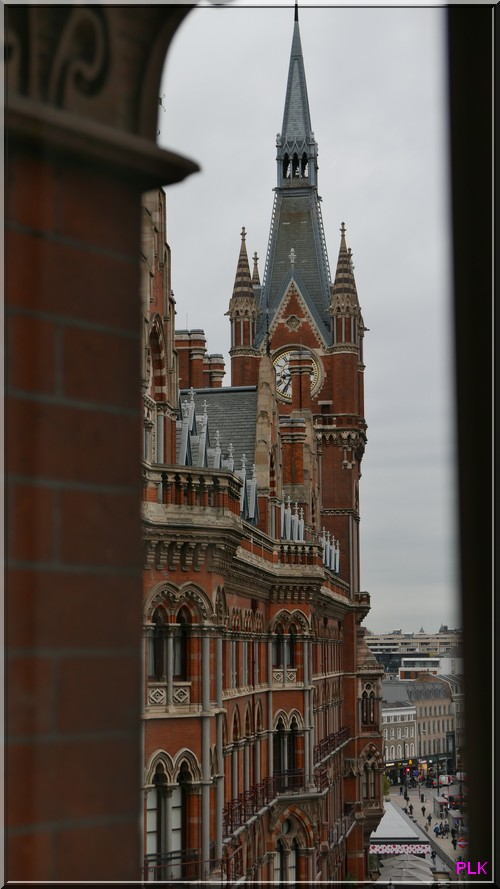 London-st-pancras-renaissance-vue-de-notre-fenetre-vue-du-quatrième-étage