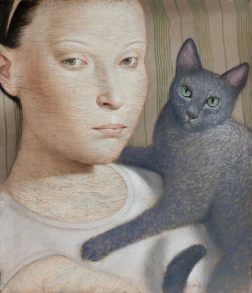 chat--russian-blue-Vladimir-Dunjic