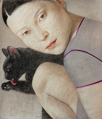 vladimir-dunjic-chat-noir