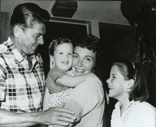 Reagan_family_1960
