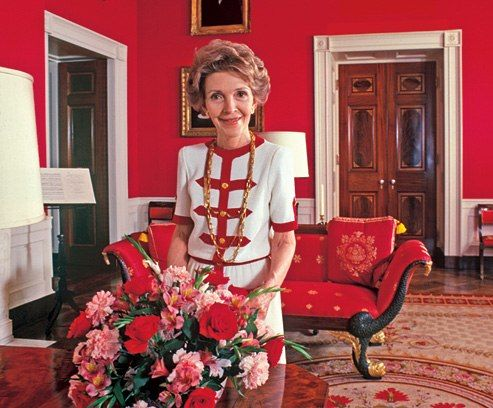 nancy-reagan-maison-blanche