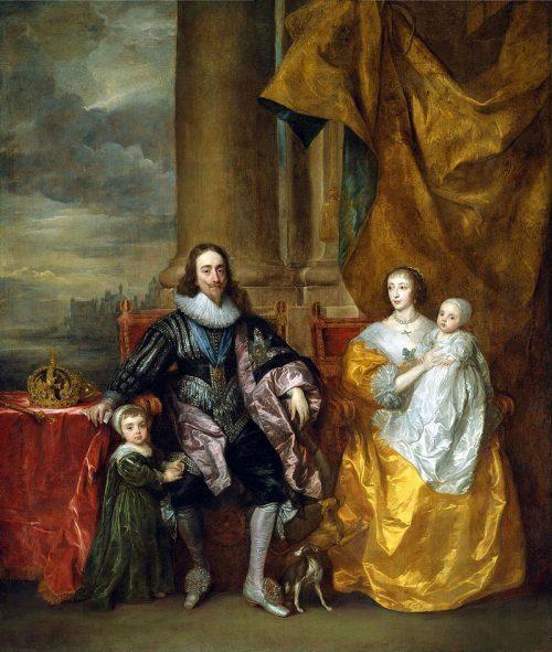 Henriette-Marie-de-France-and-Charles-I