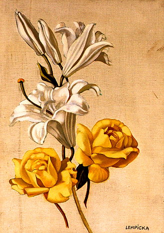 tamara-lempicka-lys-et-roses-jaunes