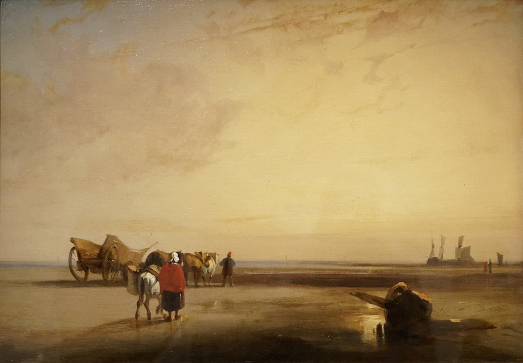 richard-parkes-Bonington- normandie