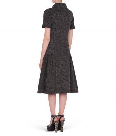 karl-lagerfeld-robe-noire-tweed