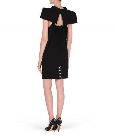 Karl-lagerfeld-petite-robe-noire-crêpe