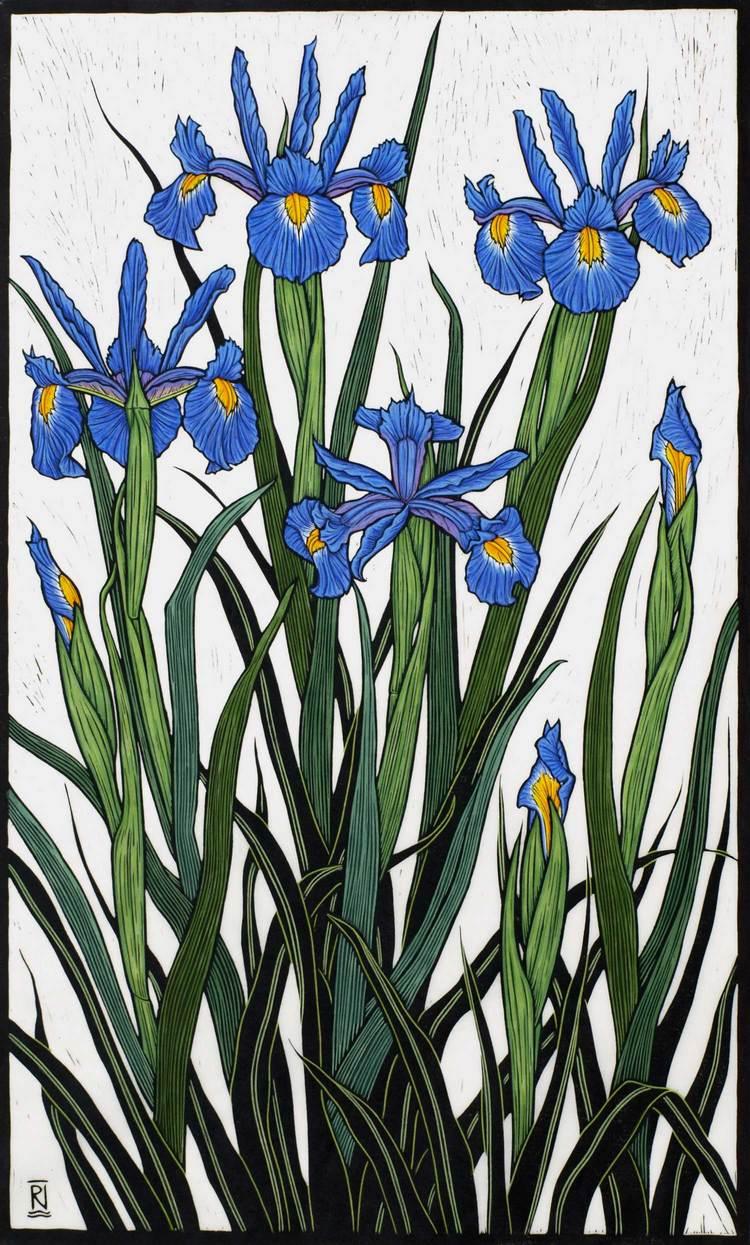 irises-linocut-rachel-newling