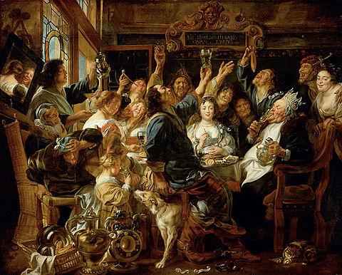 épiphanie-fête-des-rois-Jakob-Jordaens_