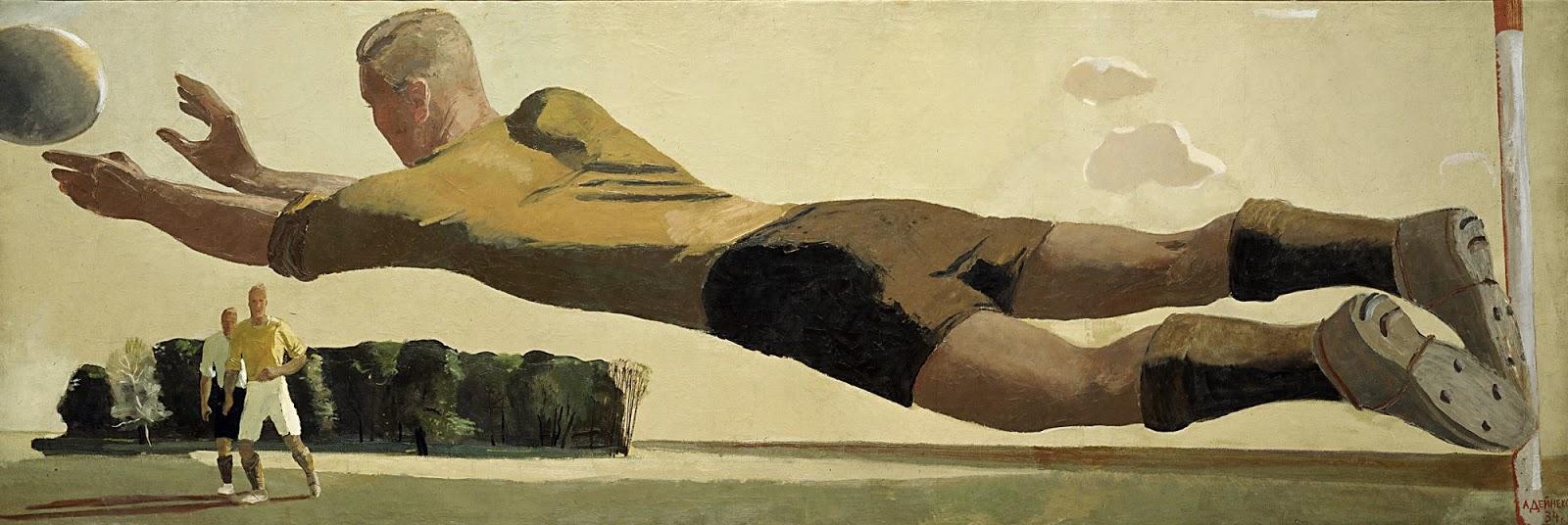 alexander-deineka-goalkeeper-1934