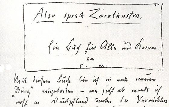 Nietzsche-zarathoustra