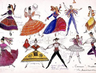carmen costume scala