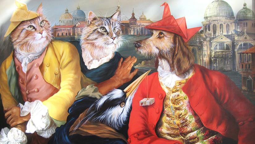 Animalitudes de Sylvia Karle-Marquet