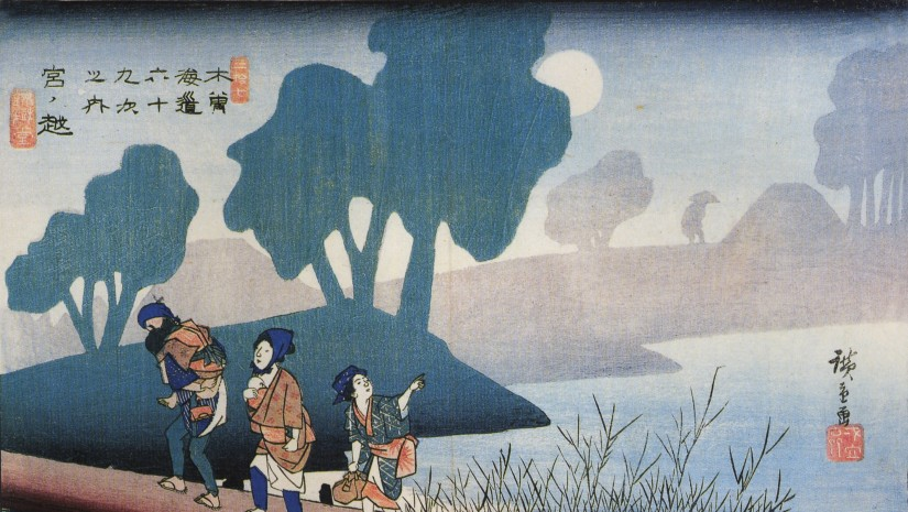 Hiroshige,_A_family_in_a_misty_landscape