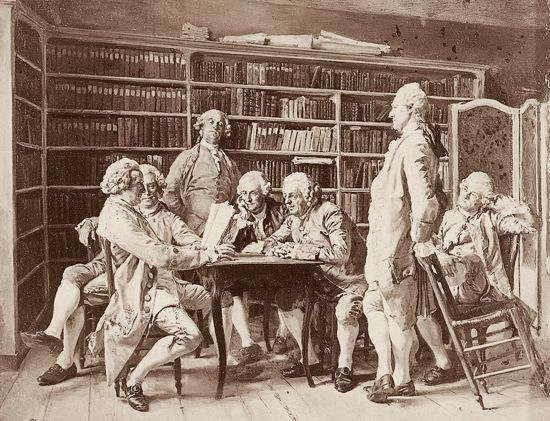 Jean-Louis-Ernest-Meissonier-Lecture-chez-Diderot