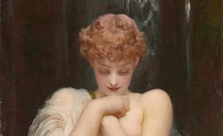 Crenaia, la nymphe de la rivière Dargle (vers 1880), de Leighton
