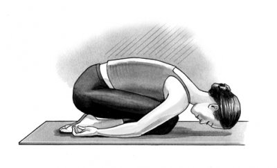 yoga child pose
