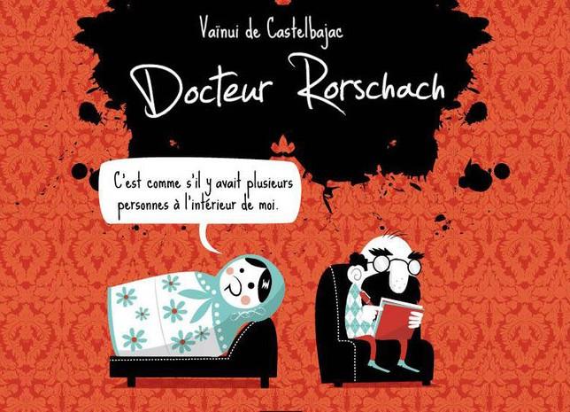 DOCTEUR RORSCHACH PAR VAINUI DE CASTELBAJAC