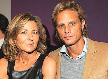 Claire Chazal and Arnaud Lemaire a