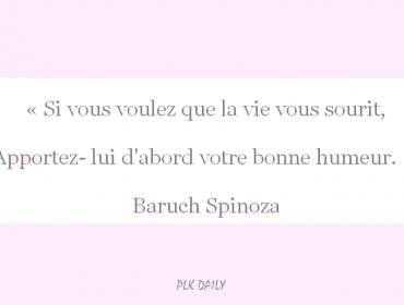daily quote spinoza