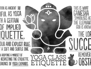 respect etiquette yoga