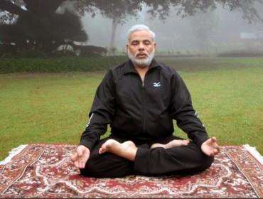 narendra-modi-Yoga