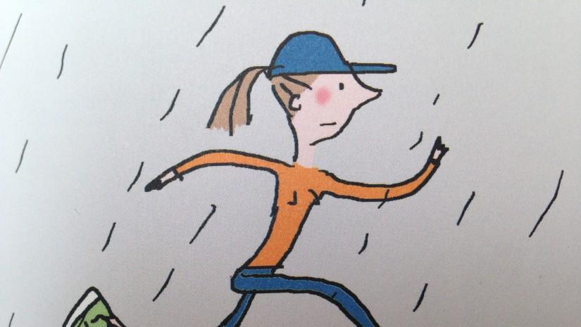 running-sous la pluie