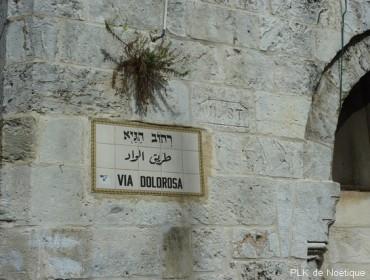 Jérusalem-via dolorosa