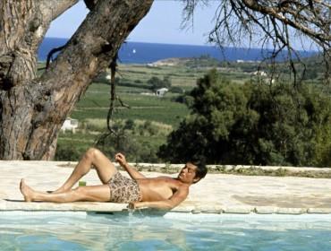 maillot bain homme piscine delon