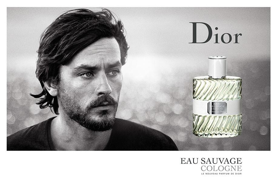 Alain Delon Toujours égérie De Eau Sauvage De Dior