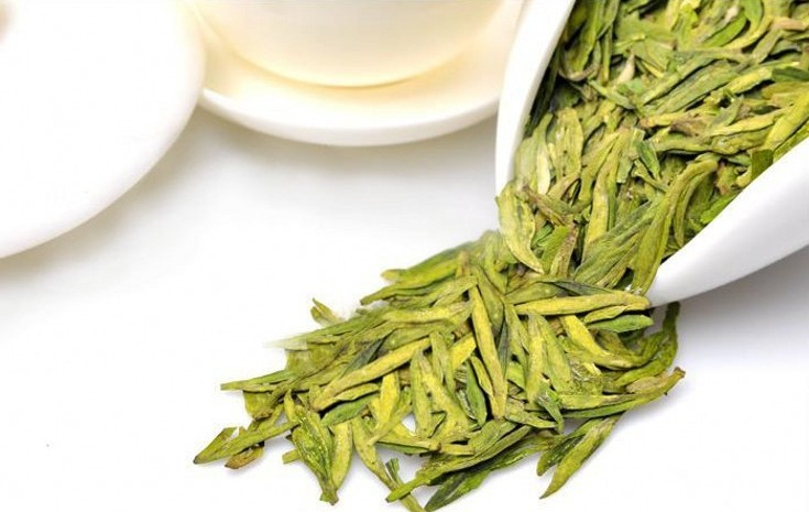 thé vert Long Jing