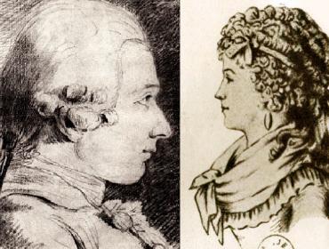 le marquis et la marquise de Sade