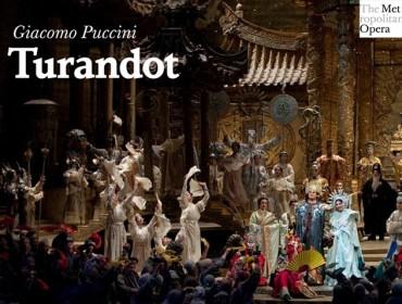 Turandot puccini MET