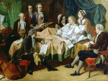 The-Last-Hours-of-Mozart-by-Henry-Nelson-O-Neil-1849