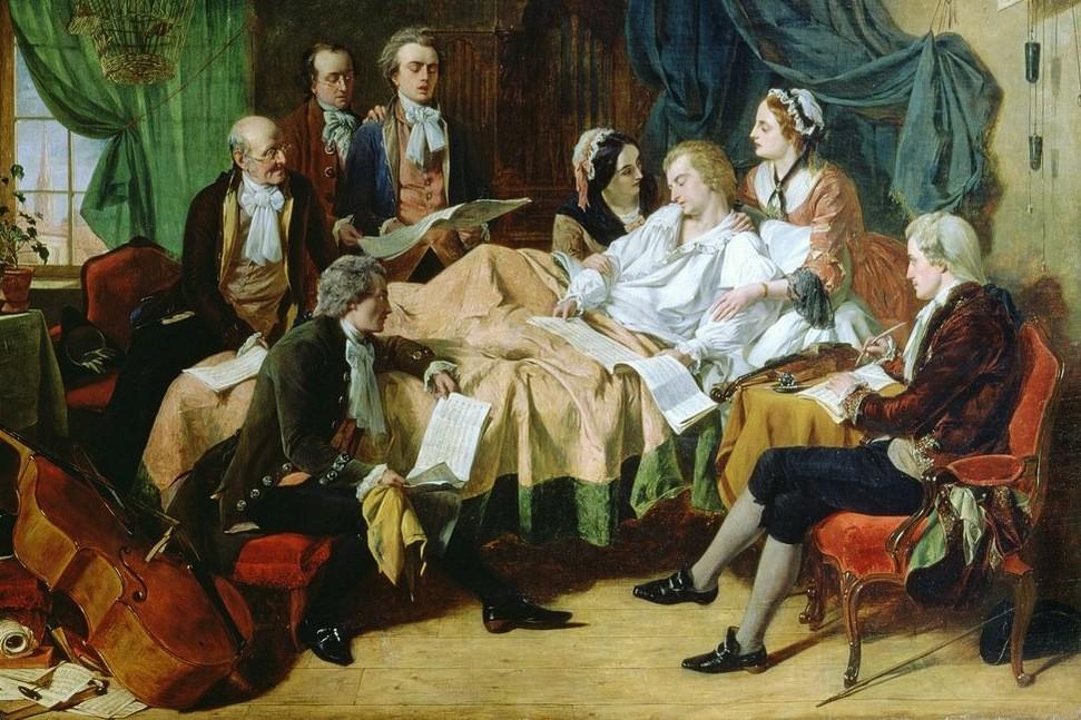 Le 5 déc.1791 mourait Wolfgang Amadeus Mozart